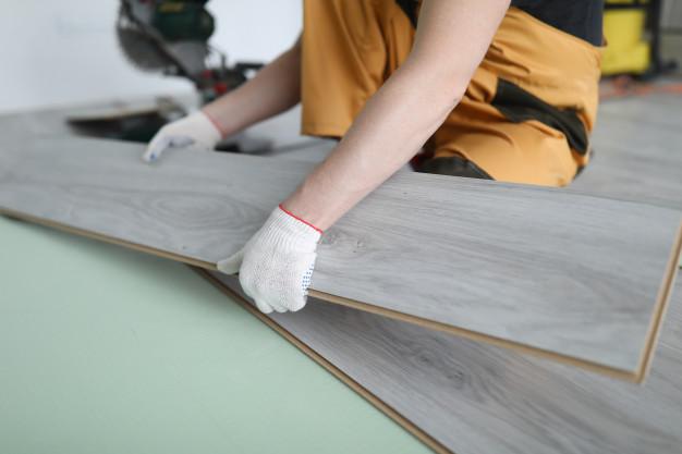 Pokládka podlah a podlahových krytin